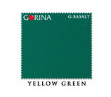 Бильярдное сукно Gorina Granito Basalt yellow green